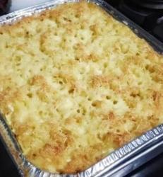 Macaroni Schootel Uk. L (20x20)