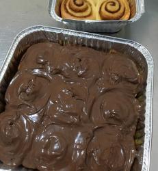 Cinnamon Roll Nutella/pcs