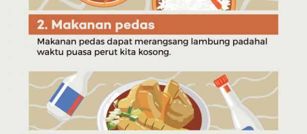 Makanan dan Minuman yang Sebaiknya Dihindari Selama Puasa Ramadhan