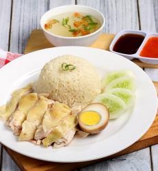 Paket Nasi Ayam (Rebus)
