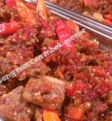 Oseng Mercon Daging (200gr)