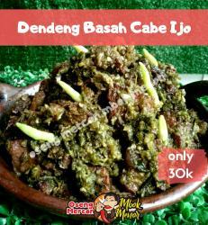 Dendeng Basah Cabe Ijo (125gr)