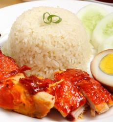 Paket Nasi Ayam (Panggang Madu)