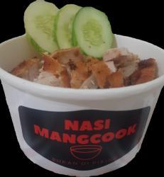 mangcook original (nasi +ayam katsu+ telur+sambal)