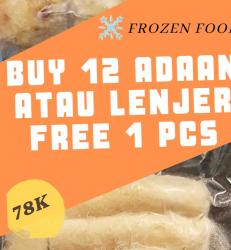 Beli 12 Adaan / Lenjer Free 1 Pcs (Dapat 13 pcs)