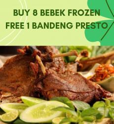 Beli 8 Bebek Free 1 pcs Bandeng Presto