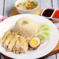 2 Paket Nasi Ayam Rebus free 1 Paket Nasi Ayam Panggang Madu